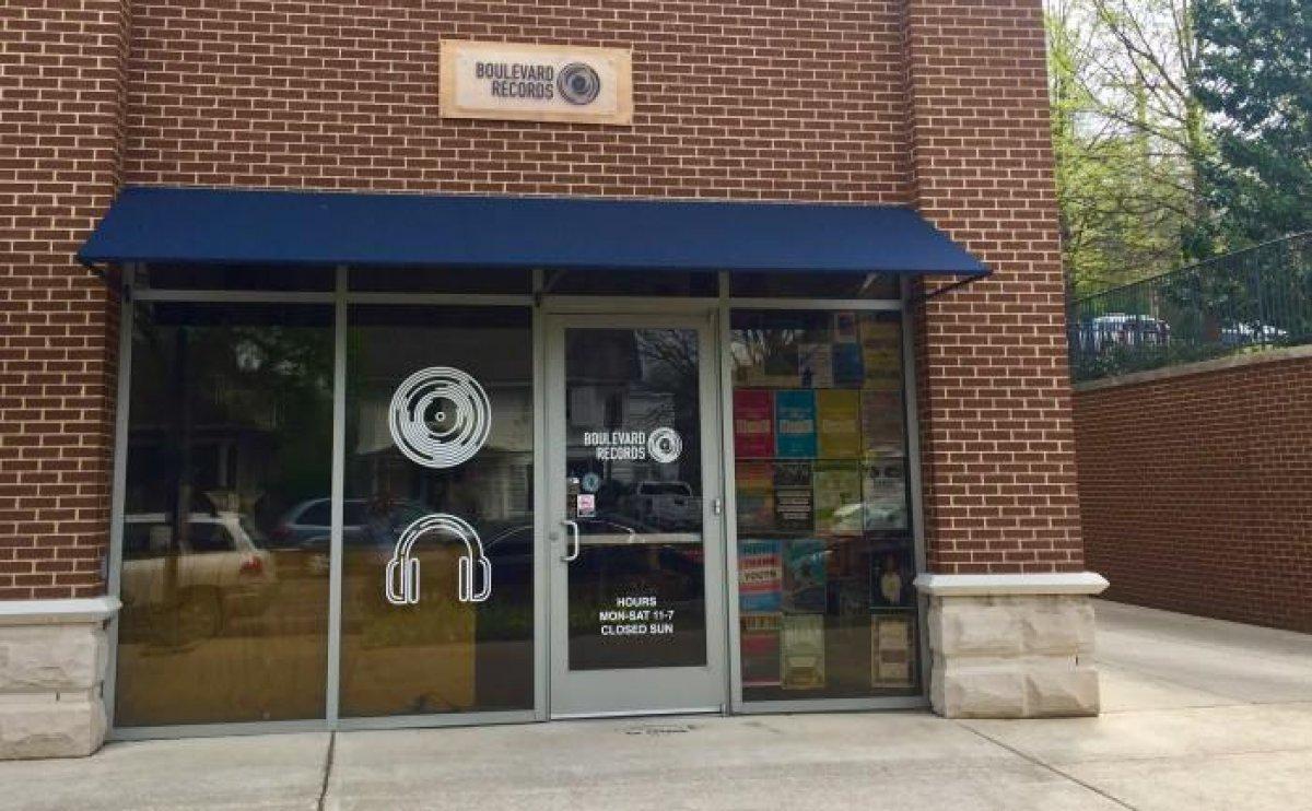 Boulevard Record Shop / Nashville on recordstores love
