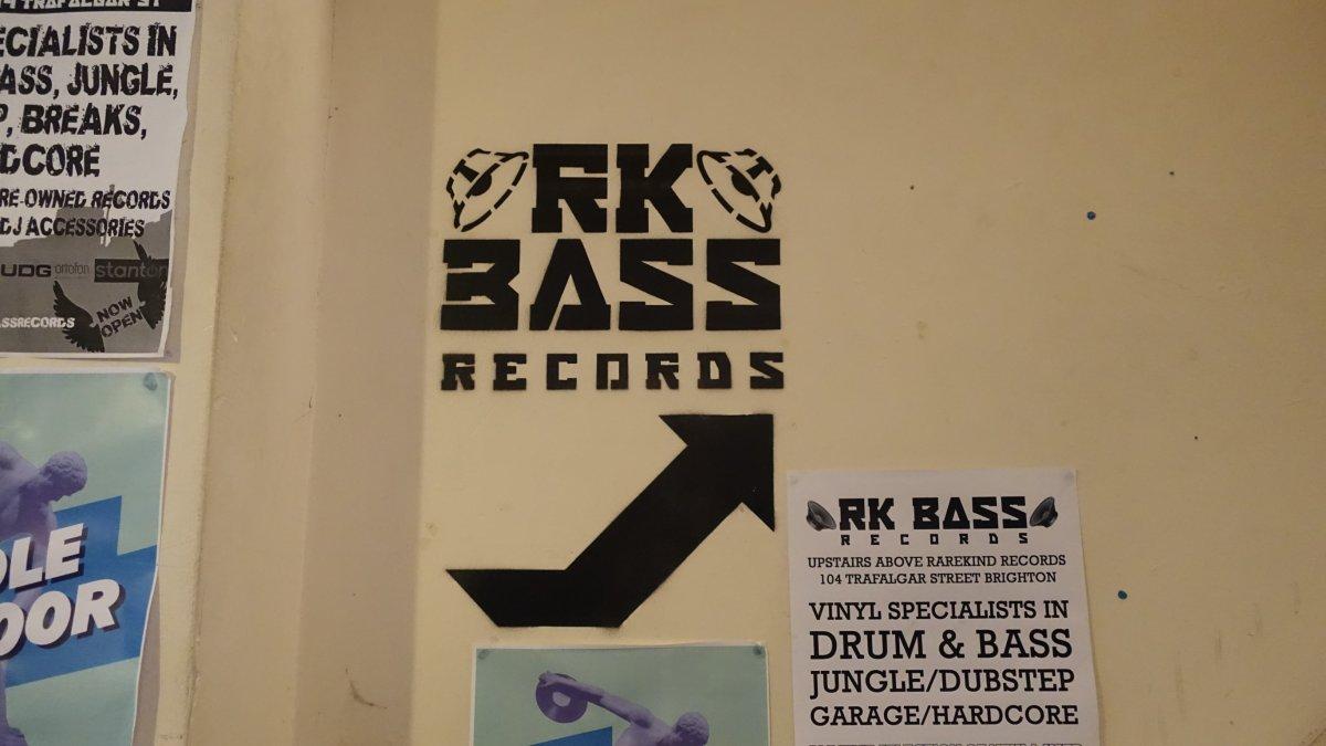 RK Bass Records / Brighton on recordstores love