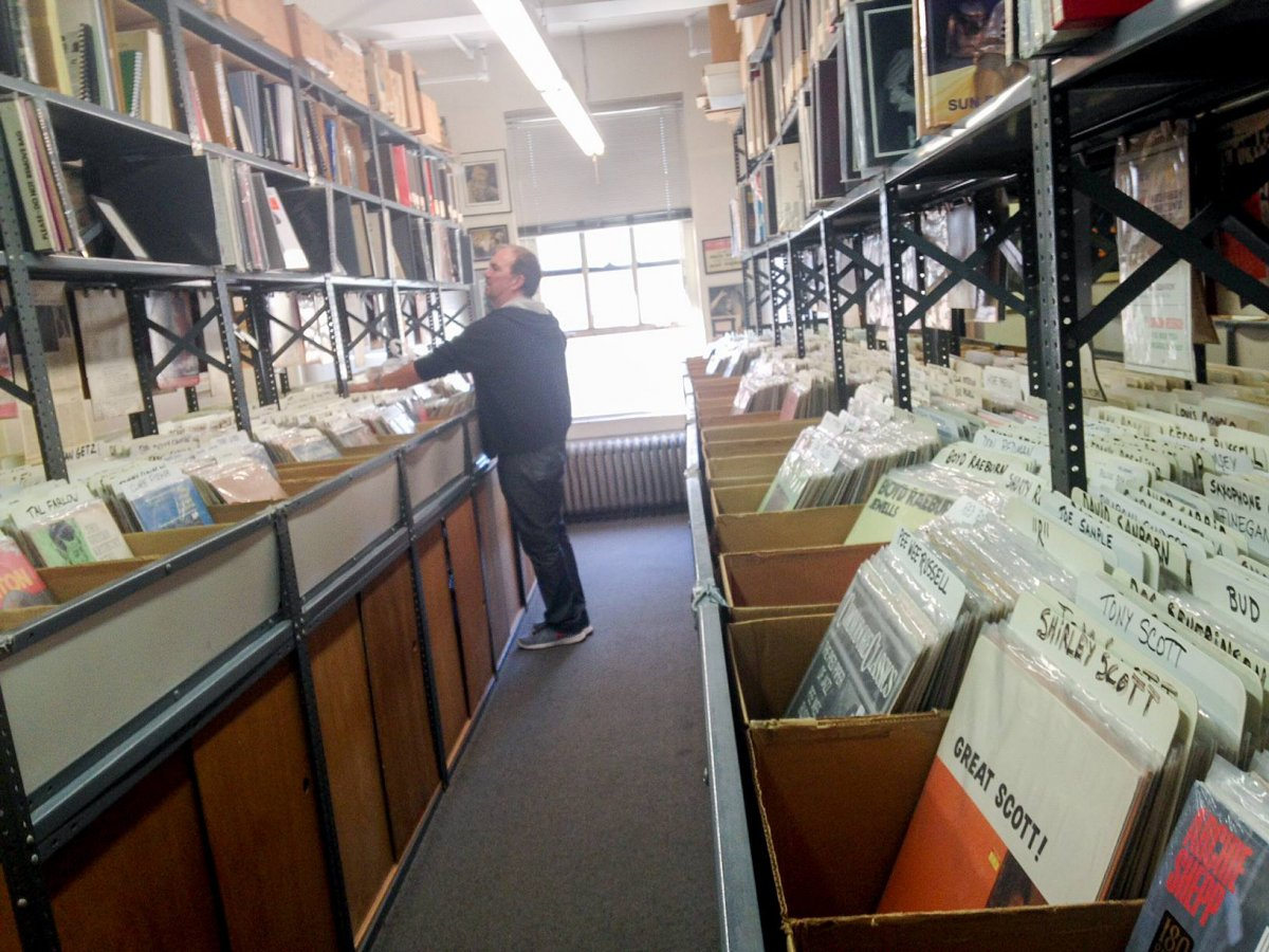 Jazz Record Center / New York on recordstores love